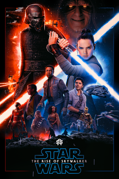 StarWars: The Rise of Skywalker | By SneakyArts