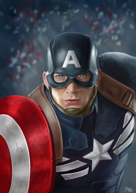 Captain America Fan Art