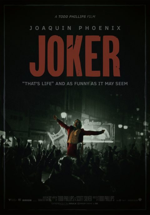 Joker Movie … I pick myself up and get back in the race…