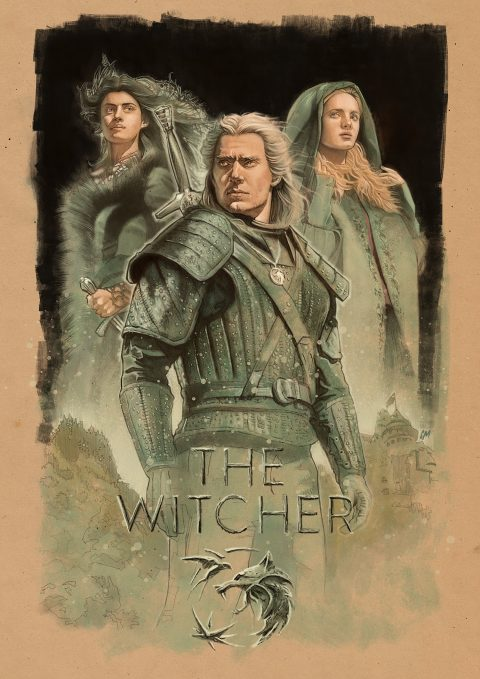 The Witcher alternative poster