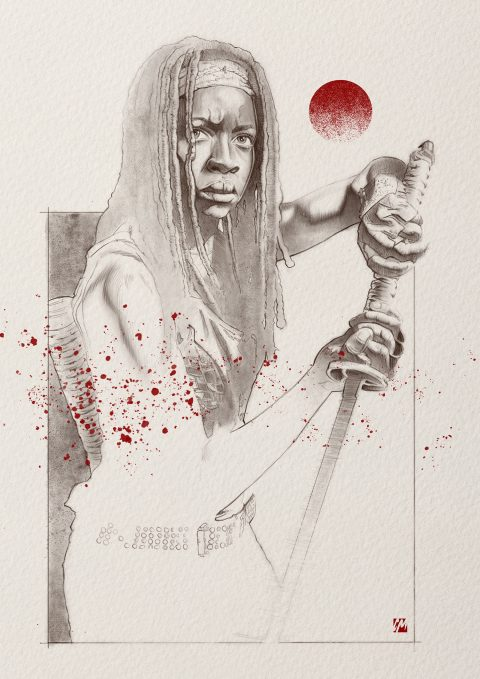 Michonne – The Walking Dead