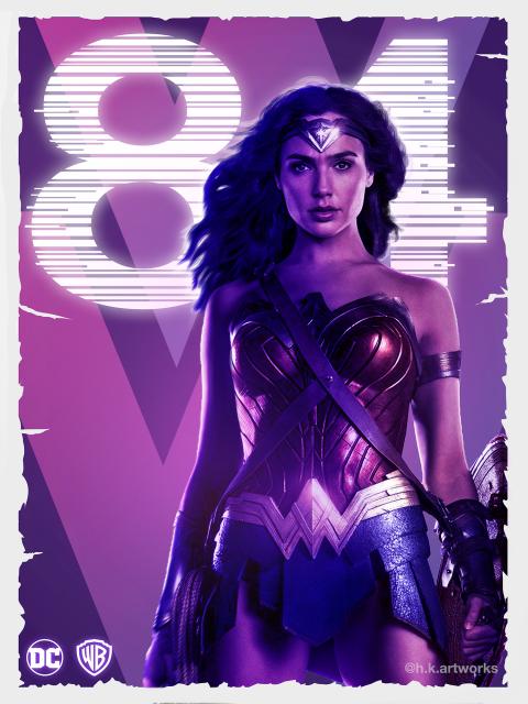 Wonder Women 84 poster