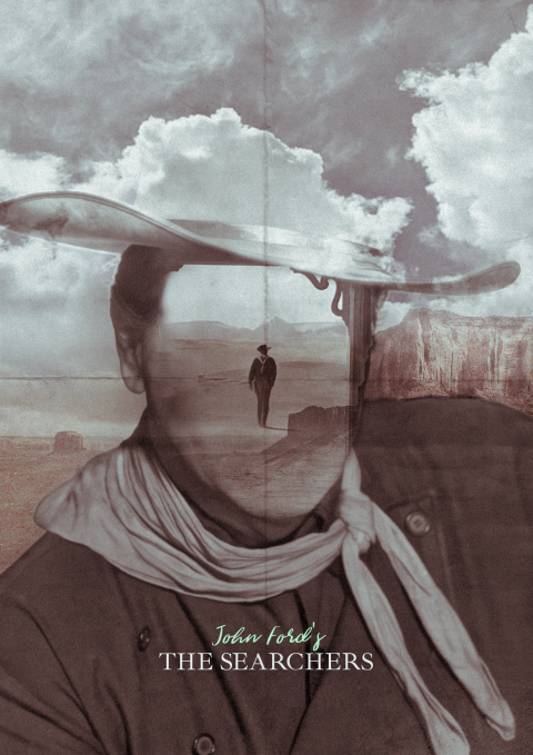 Alternative Film Poster for The Searchers by John Ford