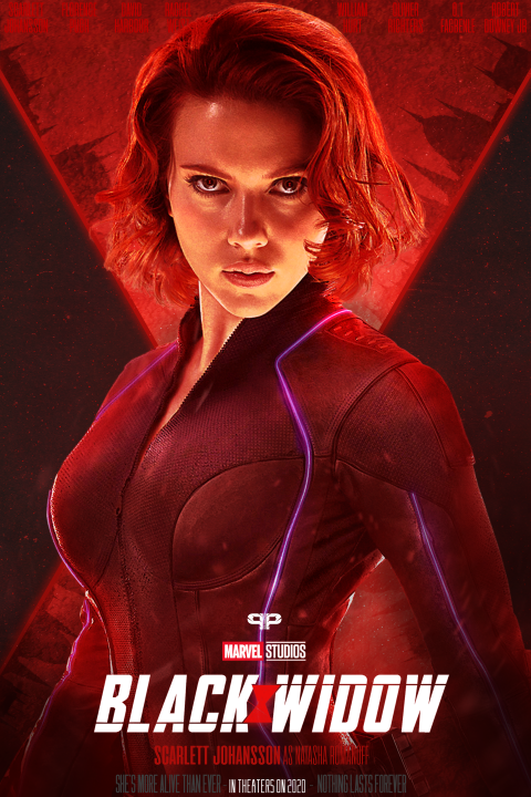 Marvel Studios Black Widow Poster
