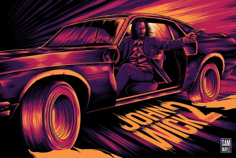 John Wick Chapter 2 – Poster