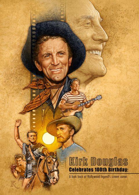Kirk Douglas Celebrates 100th Birthday