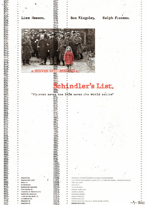 The Schindler's List