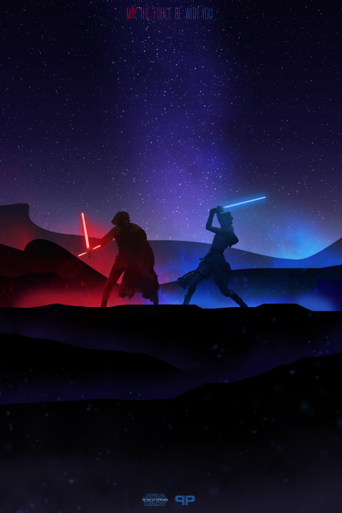 May the force be with you – Star Wars