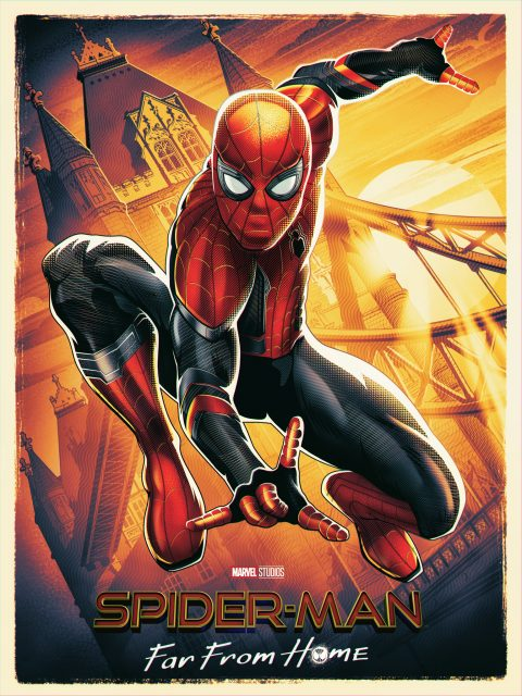 Spiderman: Far From Home movie poster