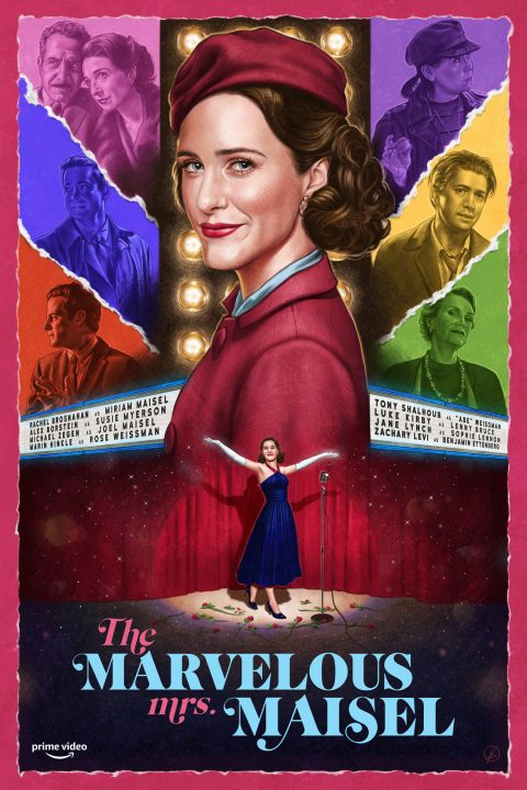 The Marvelous Mrs Maisel – Fan Poster