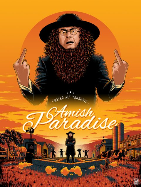 """Weird Al"" Yankovic – Amish Paradise – Poster"