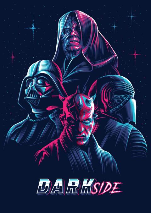 Neon villains