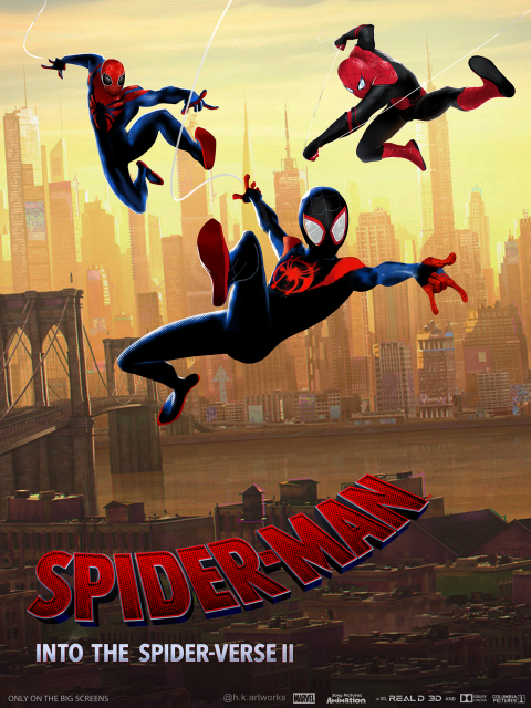 Spider-man : Into the spider-verse 2 Poster #2