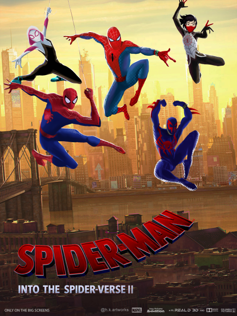 Spider-man : Into the spider-verse 2 Poster #1