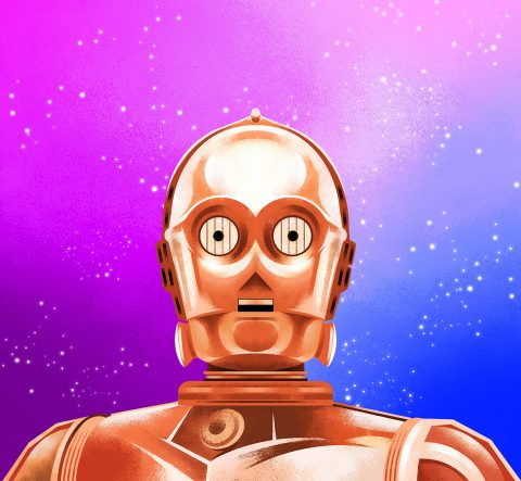 C3PO – Star Wars Tribute Art