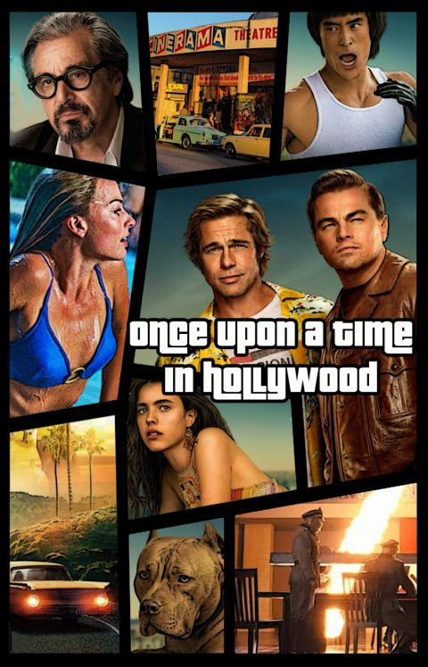 Once Upon a Time in Hollywood (GTA style)