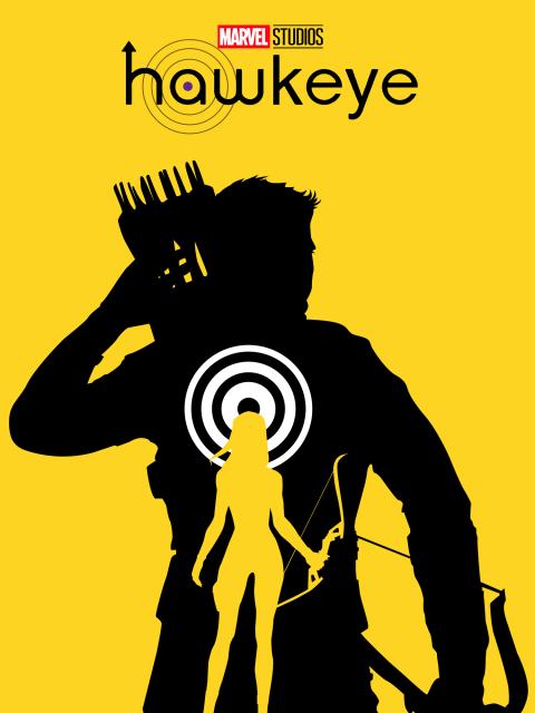 Hawkeye Disney+ Poster