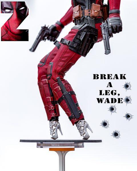 Break a leg, Wade