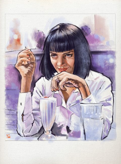 Mia Wallace – Pulp Fiction