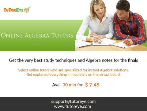 Online Algebra Tutor