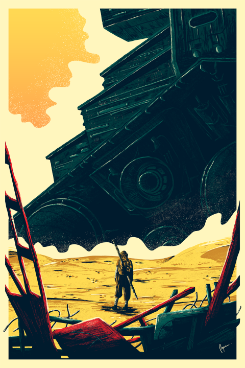 Star Wars: The Force Awakens – The Scavenger
