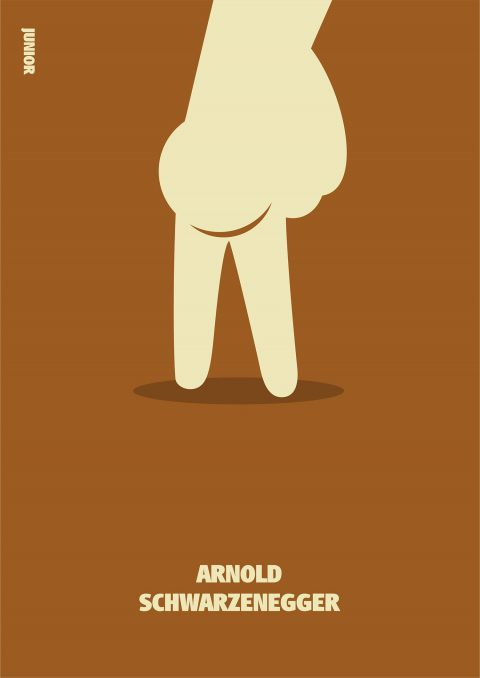 Poster series for Arnie