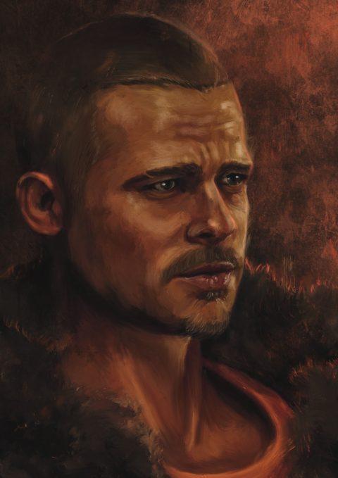 Tyler Durden portrait