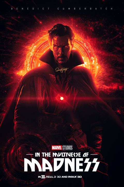 Dr Strange in the Multiverse of Madness
