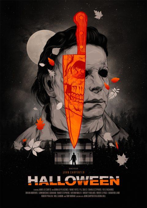 """Alternative movieposter for John Carpenter's """"Halloween"""""""