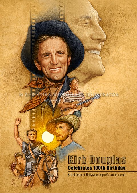 Kirk Douglas Celebrates 100th Birthday