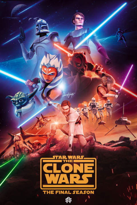TheCloneWars Poster | By SneakyArts