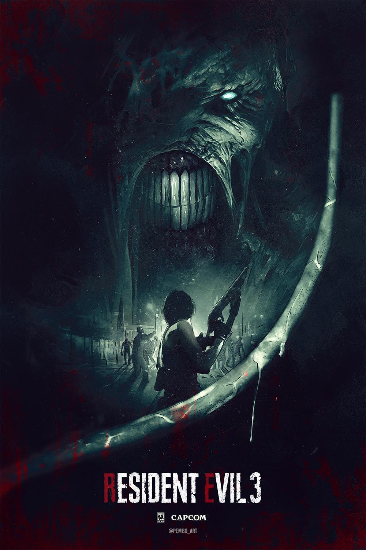 Resident Evil 3 Remake Nemesis Posterspy