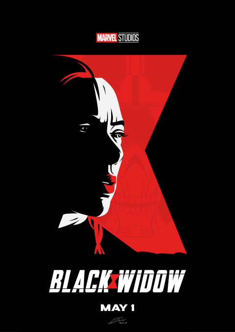 BLACK WIDOW Poster Art