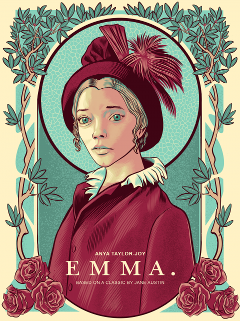 """Emma"" alternative movie poster"