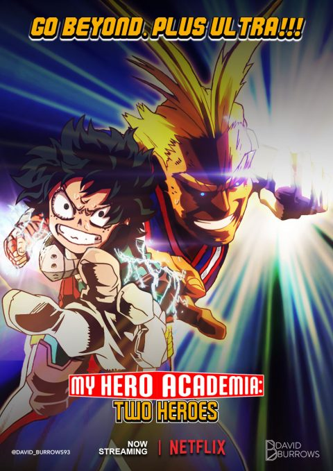 My Hero Academia: Two Heroes Netflix Poster