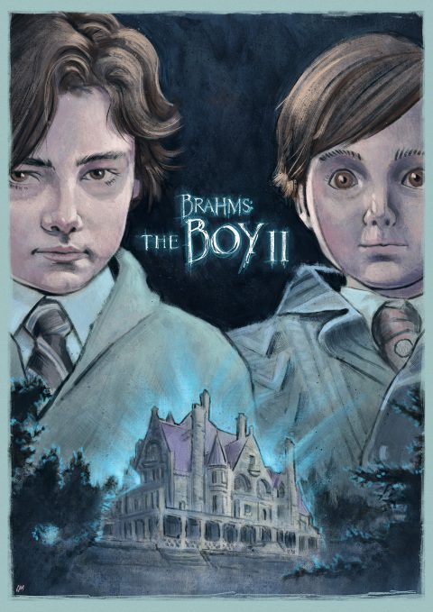 BRAHMS: THE BOY II alternative movie poster (Brahms has made a friend)