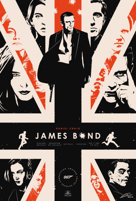 JAMES BOND Legacy Poster Art