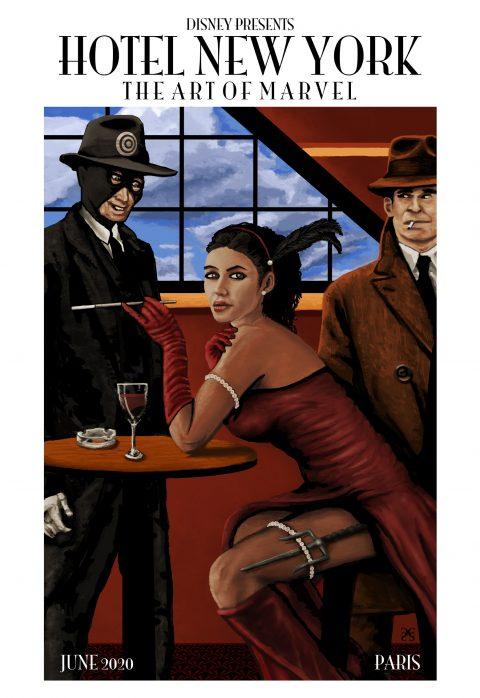 Elektra (Disney Hotel New York – The Art of Marvel Art Contest)