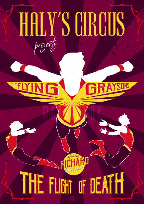 Haly's Circus presents : The Flying Graysons