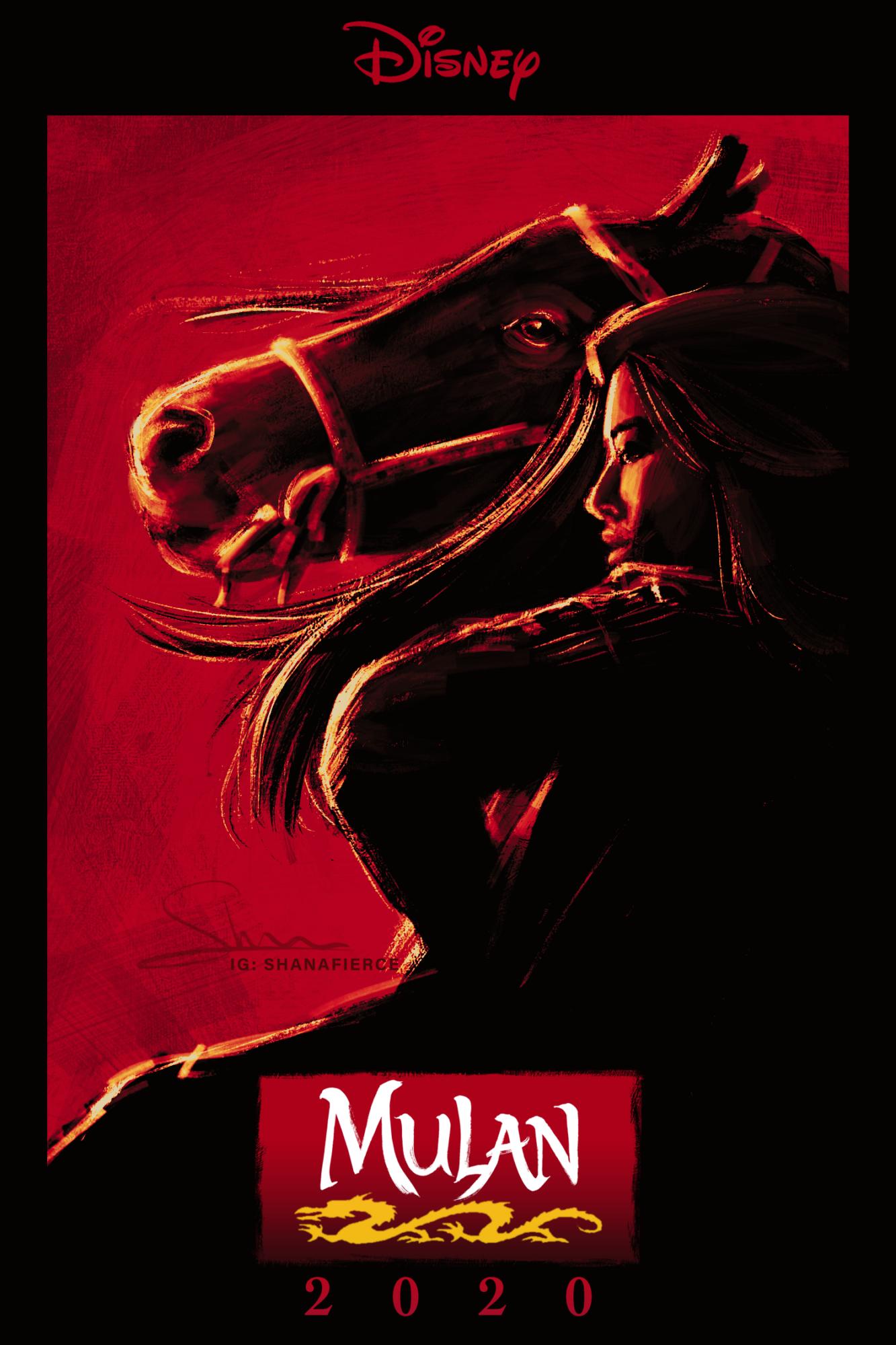 Mulan 2020 Posterspy