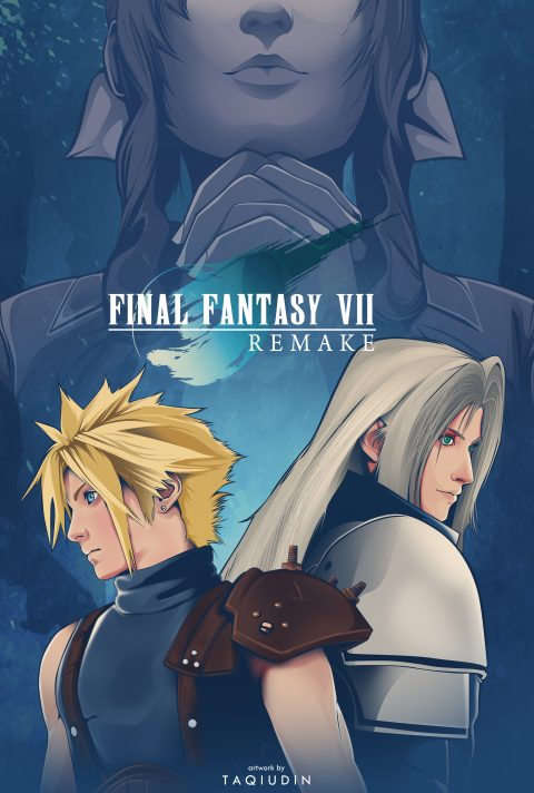 final fantasy vii remake alternative poster