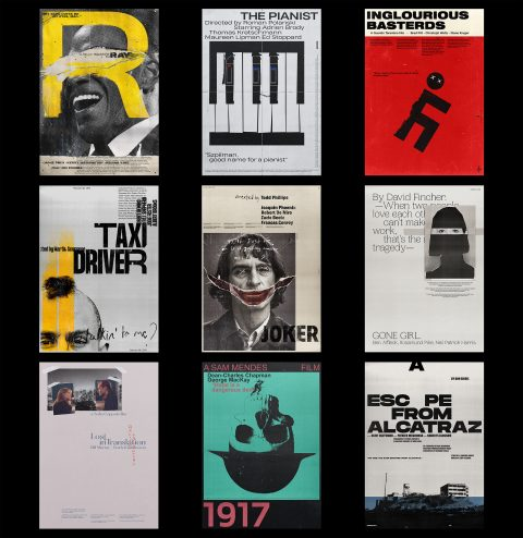 Compilation of my latest posters.