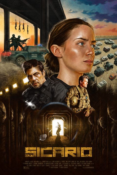 'Sicario' Alternative Movie Poster