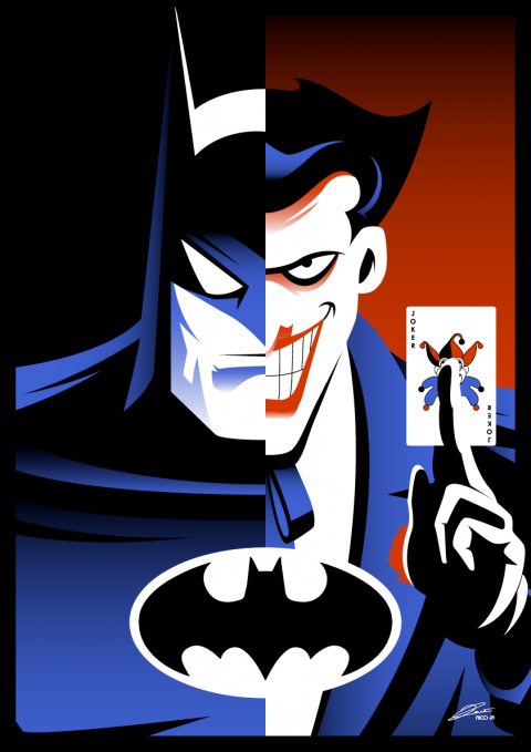 BATMAN (The Animated Series) FUN ART