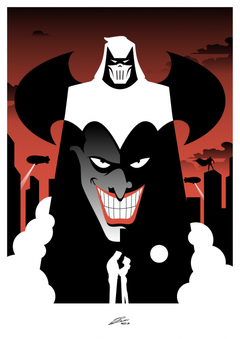 BATMAN: Mask of the Phantasm Poster Art