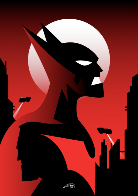 BATMAN BEYOND Poster Art