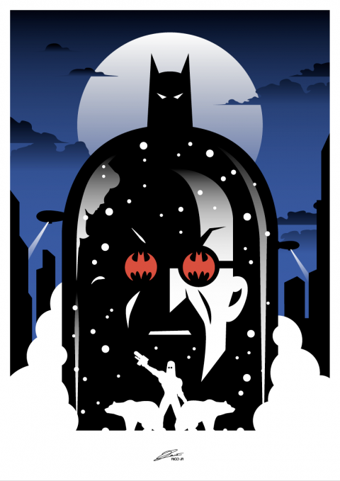 BATMAN: Subzero Poster Art