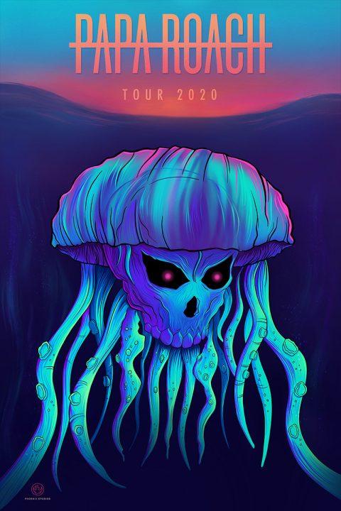 Papa Roach – Tour poster
