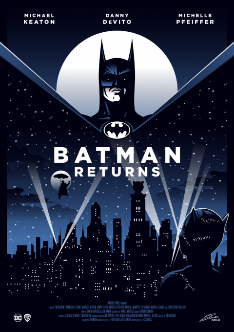 BATMAN RETURNS Poster Art