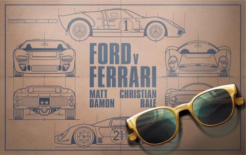 Ford v Ferrari Alternate Poster